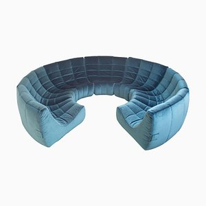 Modular Gilda Circle Sofa by Michel Ducaroy for Ligne Roset, 1972