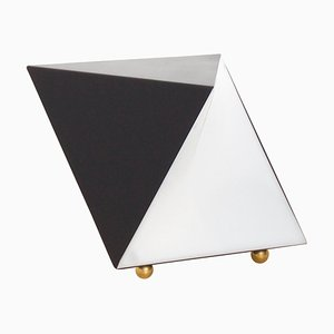 Lampada da tavolo geometrica di Raak, anni '70