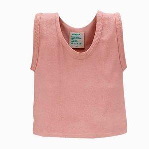 Vaso T-Shirt in ceramica rosa di Michael Harvey, anni '80