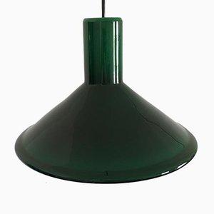 Lampe à Suspension P & T Mid-Century par Michael Bang pour Holmegaard, 1970s