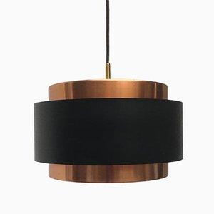 Lámpara colgante Saturn Mid-Century de Jo Hammerborg para Fog & Mørup