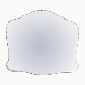 Large Vintage Frameless Mirror