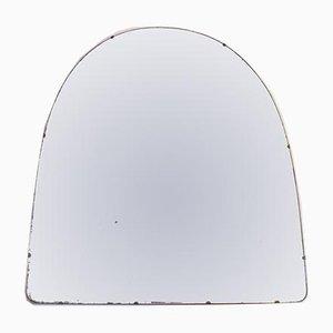 Großer rahmenloser Vintage Spiegel, 1920er