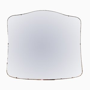 Großer Art Deco Spiegel, 1920er