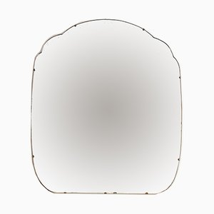 Large Art Deco Beveled Edge Mirror