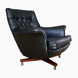 Mid-Century Rosewood Swivel Lounge Chair from G-Plan