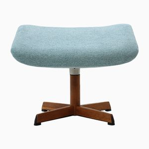Danish Adjustable Stool or Footrest, 1960s