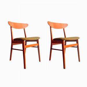 Danish Teak Chairs from Farstrup Møbler, 1960s, Set of 2