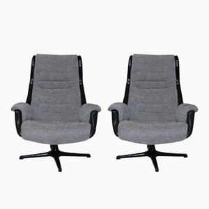 Galaxy Armchairs by Alf Svensson & Yngvar Sandstrom for Dux, 1968, Set of 2
