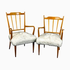 Armchairs by Paolo Buffa, 1950, Set of 2
