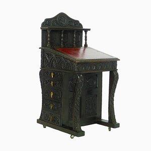 19th Century Gothic Revival Davenport Desk