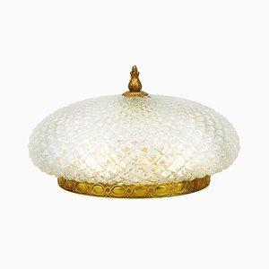 Französische Mid-Century Einbaulampe