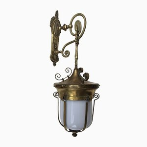 Antike Lampe aus Bronze