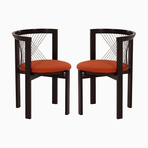 String Chairs by Niels Jørgen Haugesen for Tranekær Furniture, 1980s, Set of 2