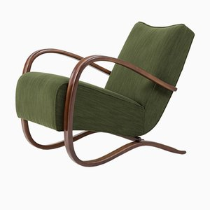 H-269 Lounge Chair by Jindřich Halabala, 1930s