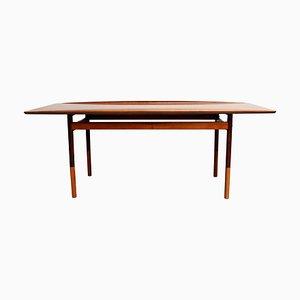 Mesa de centro de palisandro de Grete Jack para Paul Jeppesen, años 60