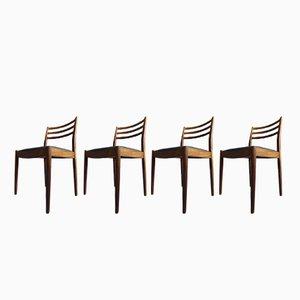 Fresco Esszimmerstühle von VB Wielkins für G Plan, 4er Set
