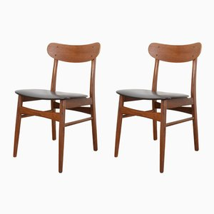 Mid-Century Danish Teak Chairs from Farstrup, 1960s, Set of 2