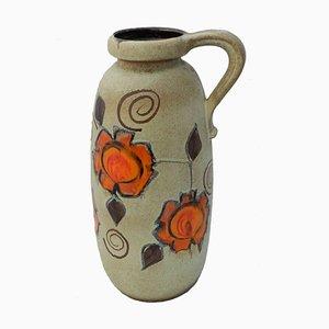 Large Mid-Century German Floor Vase from Bay & Scheurich Keramik