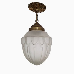 Art Deco German Ceiling Lamp, 1920s