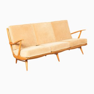 Mid-Century Three-Seater Couch from B. Spuij's