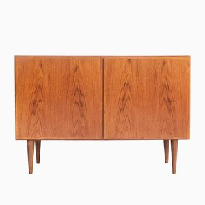 Vintage Danish Teak Cupboard from Omann Jun, 1960s