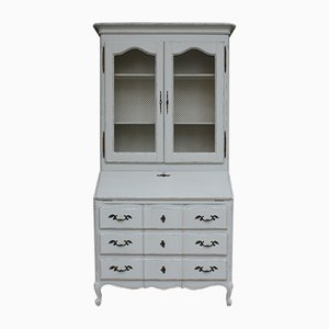 French Light Grey Secretaire, 1940s