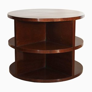 Art Deco Mahogany Side Table, 1930s