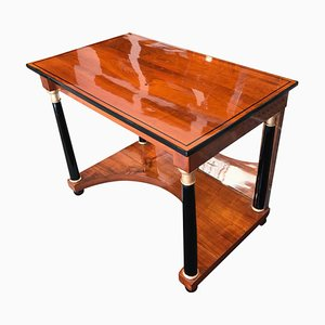 Antique Biedermeier Cherry Console Table, 1820s