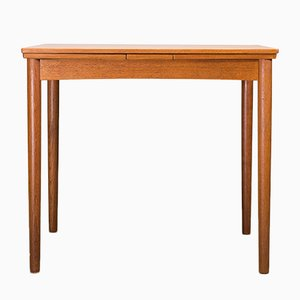 Vintage Danish Pull-Out Dining Table by Poul Hundevad for Hundevad & Co., 1960s