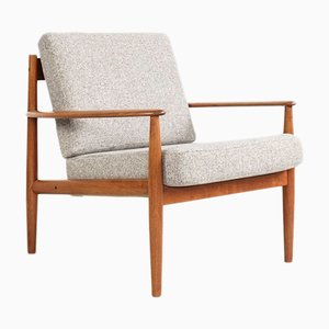 Teak Easy Chair by Grete Jalk for France and Søn, 1960s