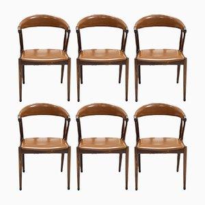 BA113 Esszimmerstühle aus Palisander von Johannes Andersen 1960er, 6er Set