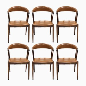 BA113 Rosewood Dining Chairs by Johannes Andersen 1960s, Set of 6