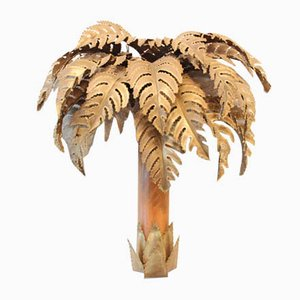 Palm Tree Sconce from Maison Jansen, 1960s