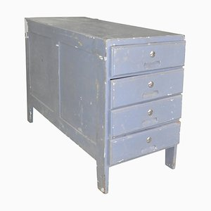 Vintage Grey Chest of Drawers, 1950s