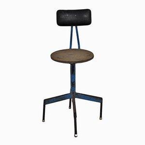Industrieller Mid-Century Stuhl aus Eisen, 1960er