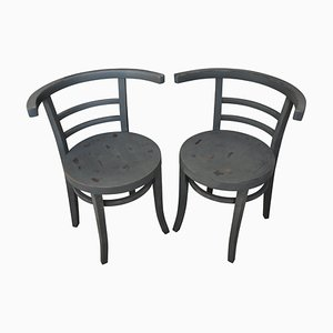 Bistro Chairs from Thonet, 1930, Set of 2