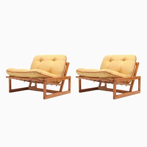 Carlotta Lounge Chairs by Afra & Tobia Scarpa for Cassina, 1960s, Set of 2