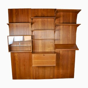 Large Royal System Wall Unit by Poul Cadovuis, 1960s