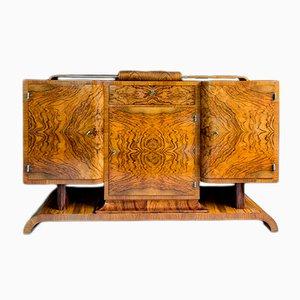 Art Deco Sideboard von Franciszek Najder
