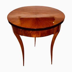Table d'Appoint Biedermeier Ronde, 1820s