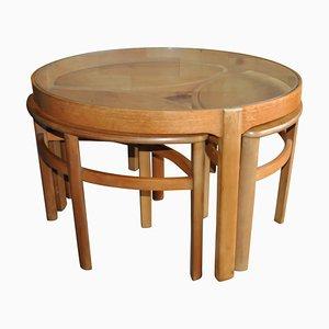 Tavolini a incastro Mid-Century di Nathan, anni '60