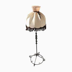 Stehlampe aus Schmiedeeisen, 1950er
