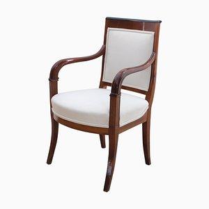Biedermeier Armlehnstuhl aus Kirschholz, 1820er