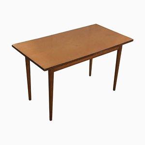Table Basse Mid-Century avec Plateau en Acrylique