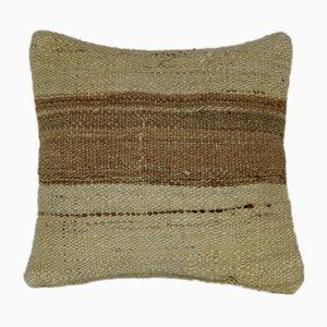 Housse de Coussin Kilim Rayée de Vintage Pillow Store Contemporary, 2010s