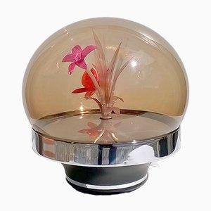 Lámpara de mesa italiana vintage, años 60