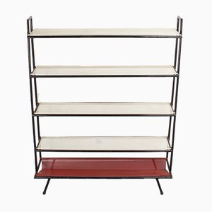 Mid-Century Freestanding Metal Shelves from Pilastro