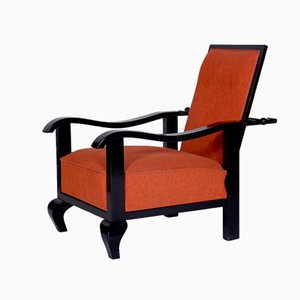 Art Deco Adjustable Armchair, 1920s