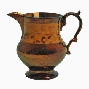 Antiker brauner Krug von Bristol